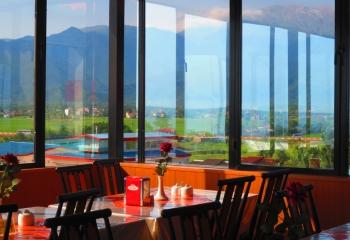 رستوران هتل آسمان